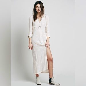 NWOT Free People Lily of the Valley Dress